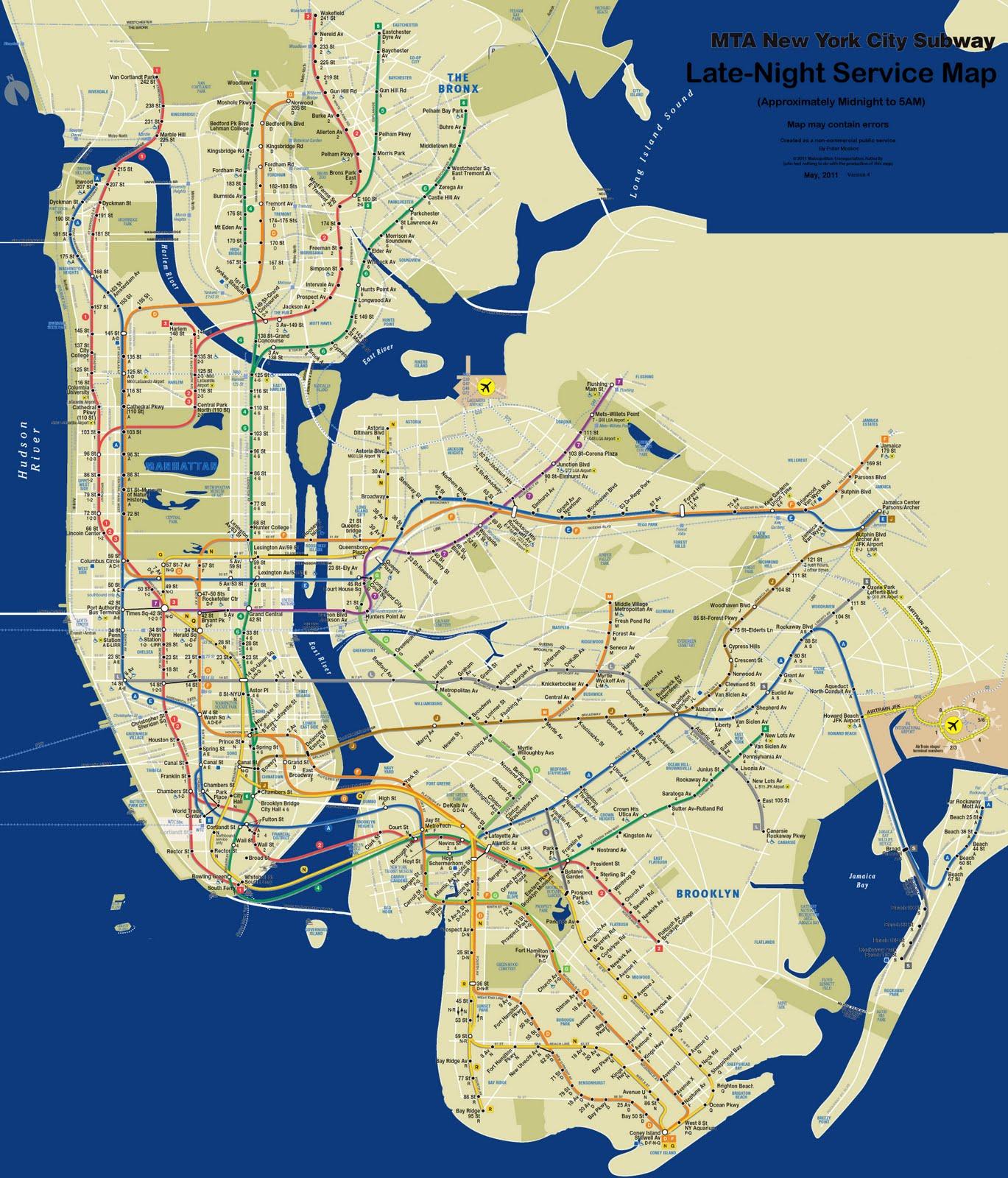 Схема метрополитена нью йорка фото 780